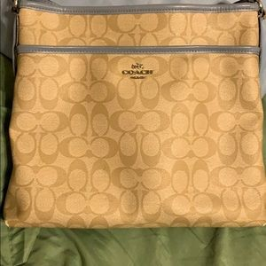 Coach crossbody. Offers welcomed